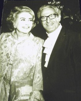 1969. With Dore Freeman at the Governor's Ball.