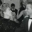 'Esther Costello' party with Rossano Brazzi.