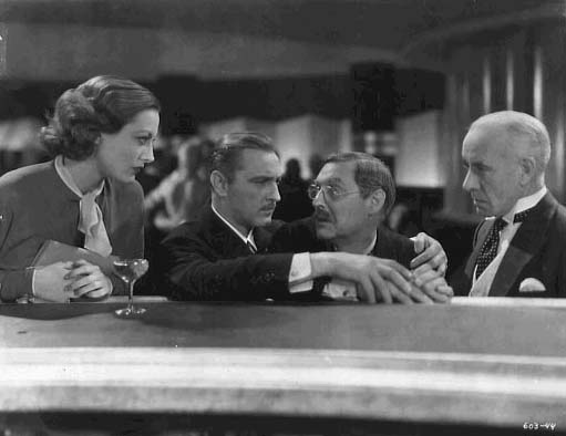 With John Barrymore, Lionel Barrymore, and unknown.
