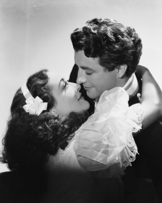 1936. 'Gorgeous Hussy.' With Robert Taylor.