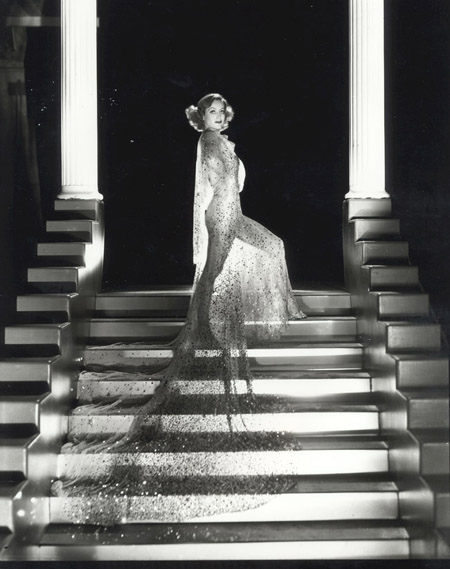 1933. Publicity for 'Dancing Lady' shot by Hurrell.