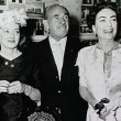 With Bette Davis and Jack Warner at the Trophy Club.