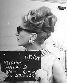 1964. Hair test for 'Hush Hush.' (Thanks to Bryan Johnson.)