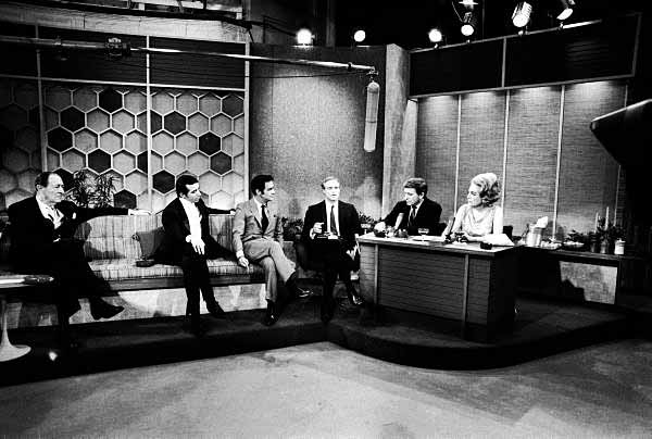 Circa 1968 on the 'Merv Griffin Show.'