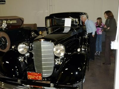 Joan's 1933 Cadillac Town Car from a 2009 car show.