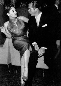 With Jackie Cooper in 1959. The body language!
