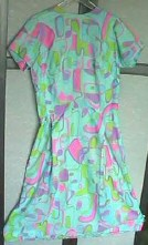 A Joan-dress from the '60s. Auctioned on eBay in 2002.