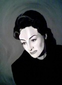 'Joan Early 1940s' by Anthony Watson. Click to see his entire gallery of Joan paintings, and for more info re purchasing and his website.