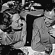 1948. Joan with Frank Sinatra at Ciro's.