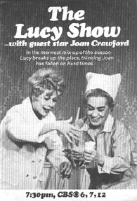 A TV Guide ad for Joan's appearance on 'The Lucy Show,' 1968.