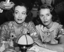 With Barbara Stanwyck.