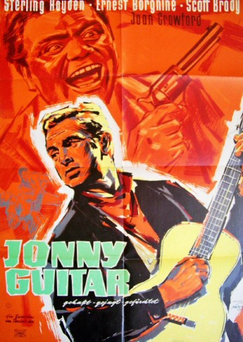 1959. German re-release poster for 'Johnny Guitar.'
