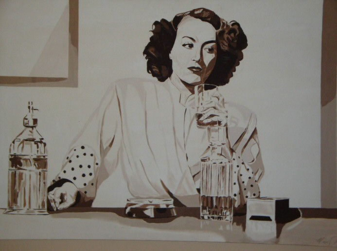'Joan Crawford' by Matt Burcaw.