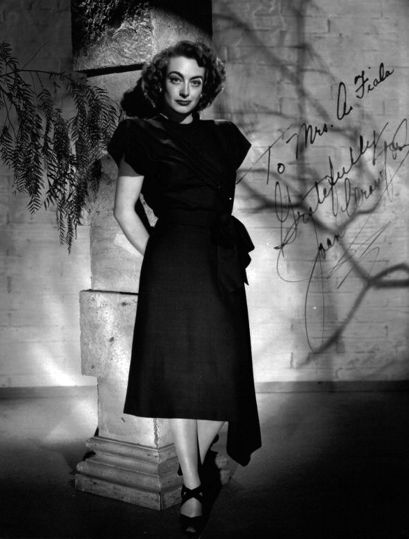 1947. Publicity for 'Possessed.'