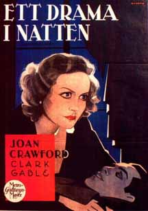 Joan looking very Garbo-esque in this Swedish poster.