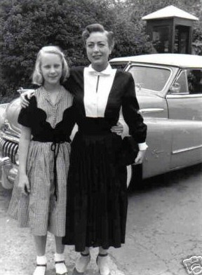 Circa 1951, with daughter Christina.