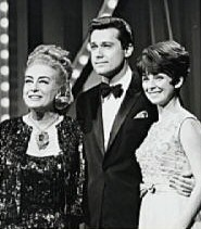 A promo picture for the show. Also pictured are Jack Jones and Joanie Sommers.