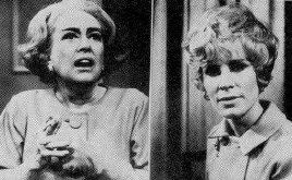 Two  UPI photos: Joan and Christina on 'Secret Storm.'