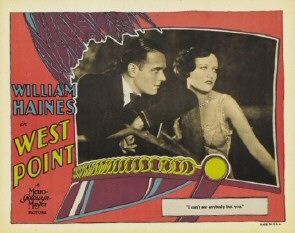 Lobby Card #5. Caption: 'I can't see anybody but you.'