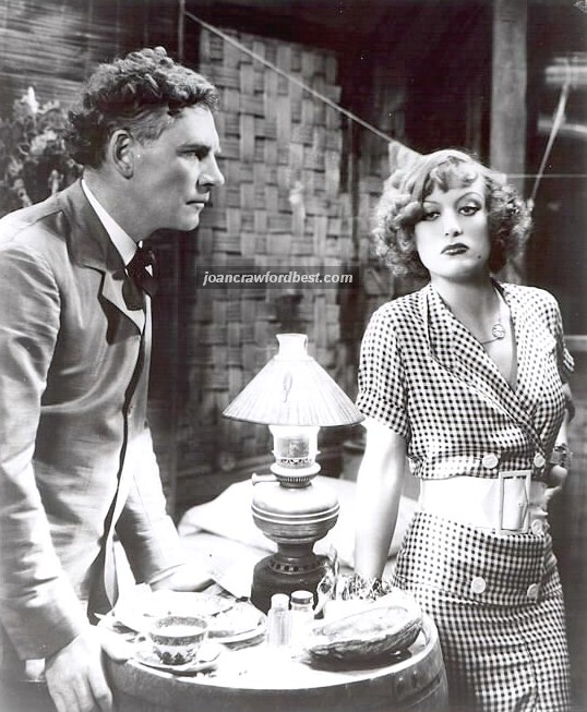 With Walter Huston.