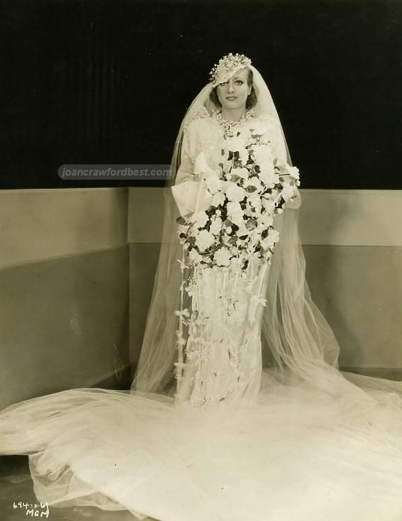 Joan crawford images 1933 for Best wedding dresses for dancing