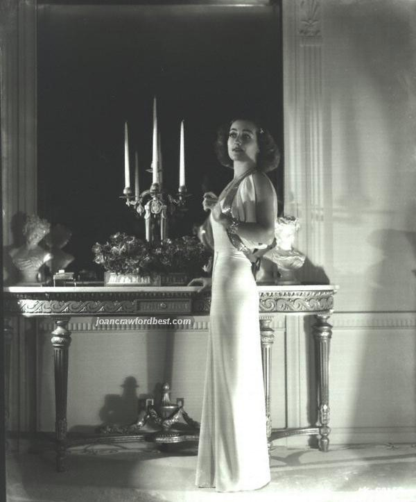 1936. At home, shot by Hurrell.