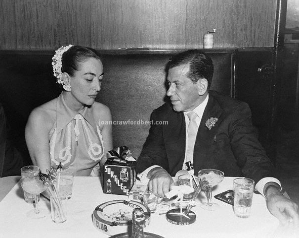 August 1952. With Manny Sachs at the Stork Club.
