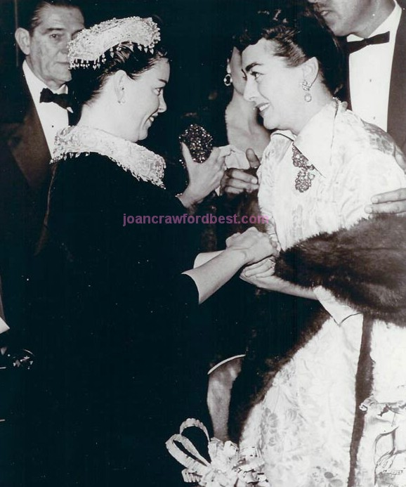 9/29/54. At the 'Star is Born' premiere, with Judy Garland.