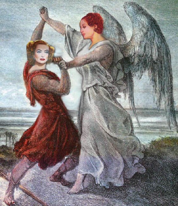 'Wrestling the Angel.' By Karen Whitehill.