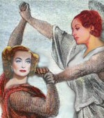 'Wrestling the Angel' by Karen Whitehill. From the now-defunct website www.hymntoher.com.