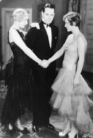 From left: Gwen Lee, William Haines, Joan.