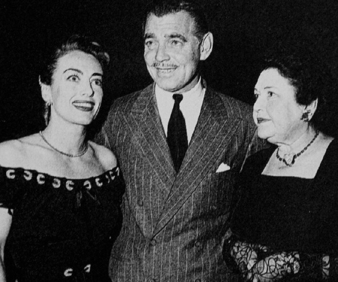 Image result for clark gable and louella parsons