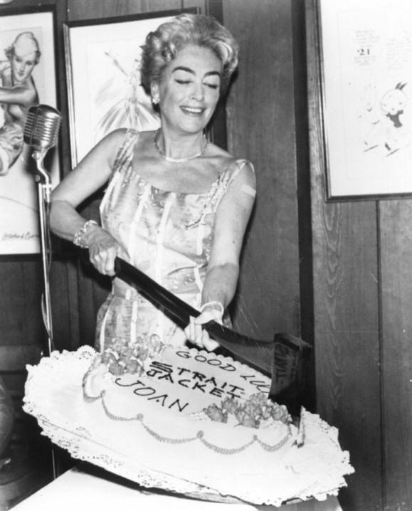 joan crawford birthday Joan Crawford Images: 1964 joan crawford birthday