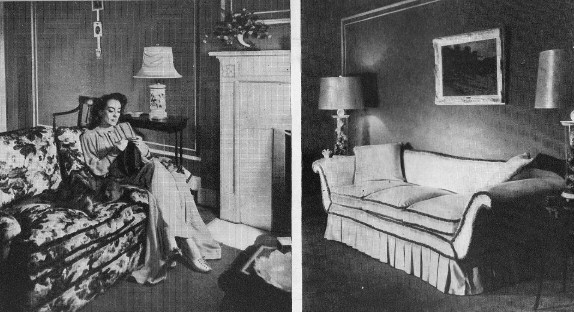 Joan Crawford At Home In New York