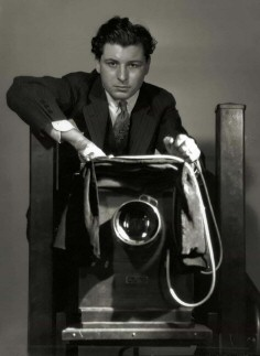George Hurrell self-portrait.