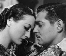 Joan and Clark, from 1934's 'Chained.'