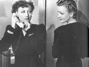 Joan with Virginia Grey in 1939's 'The Women.'
