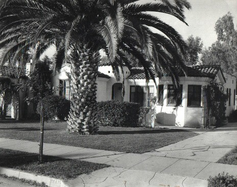 Glendale. Outside view of Pierce home.