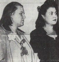 From the LA Times, Jan. 17, 1945. Rebecca Kullberg is at left, being escorted by a US deputy marshal.