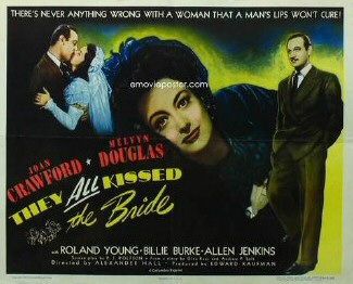 Image result for they all kissed the bride poster